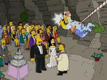 Homerazzi casamento wolfcastle corda