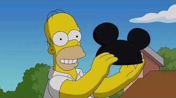 The Simpsons Coming To Disney Teaser Trailer