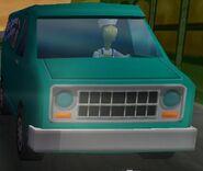 Front of Fish Van + Driver (Level 3)