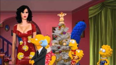 THE SIMPSONS - Katy Perry Dates Moe!