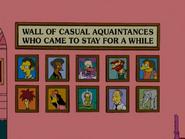 Wall of casual aquaintances