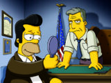 "Jon Hamm de ""Mad Men"" em Os Simpsons"