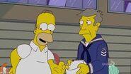 Homer and skinner