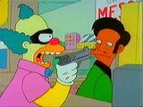 Krusty va al fresco