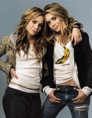 Olsen Twins (May 2004)
