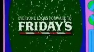1993 The Simpsons TGI Fridays Christmas Commercial