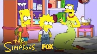Lisa & Bart Get Into A Fight Season 30 Ep. 9 THE SIMPSONS
