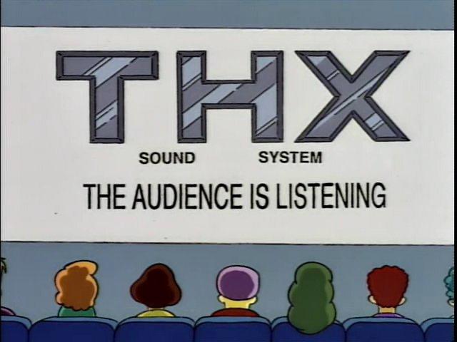 Thx Simpsons Wiki Fandom Powered By Wikia