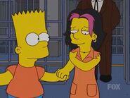 Bart Holding Gina's Hand