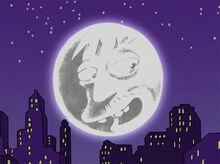 Cletus lua cidade noite
