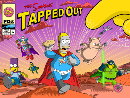 Superbohaterowie 2015 Tapped Out