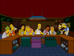 Homer -the last supper