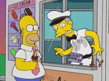 Homer max sorvete morte