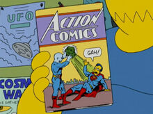 Action comics kryptonita superhomem