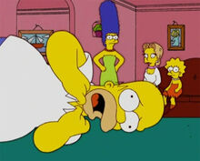 Homer engasgado