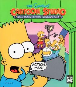 The Simpsons Cartoon Studio