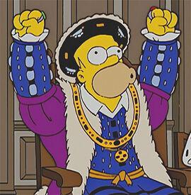 Homer henry VIII 15x11