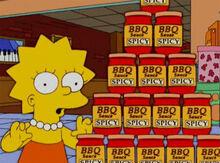 Lisa molho de churrasco