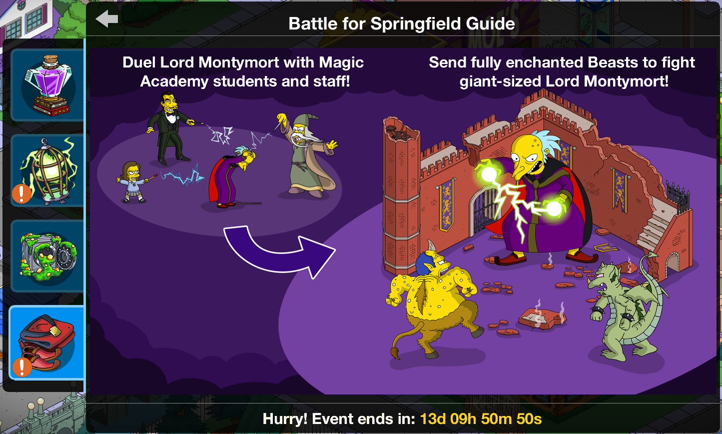 image battle for springfield guide png the simpsons tapped out rh simpsonstappedout wikia com Simpsons Springfield App Springfield Simpsons Real Life