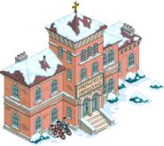 Springfield Orphanage Snow Menu