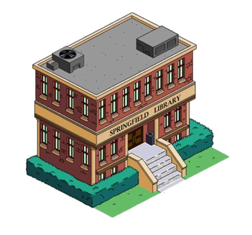 springfield library the simpsons tapped out wiki