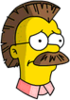 Ned Mohawk Sad Icon