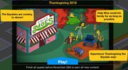 Thanksgiving 2018 Event Start Guide