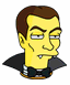 Count Dracula Serious Icon