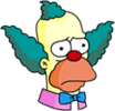 Krusty Sad Icon