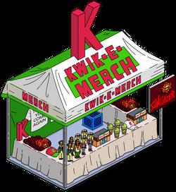 Kwik-E-Merch Menu
