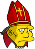 The Beefy Bishop Sad Icon