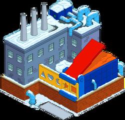 Playdough Factory Snow Menu
