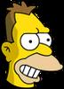 Young Grampa Simpson Happy Icon