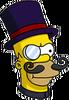 Evil Homer Icon