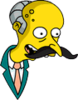 Mr. Burns Mr. Snrub Happy Icon