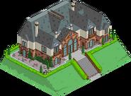 Burns' Summer Mansion West Wing Menu