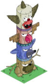Krusty Totem Pole