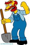 Groundskeeper willie 01 the simpsons 52073