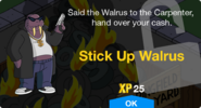 Stick Up Walrus Unlock Screen