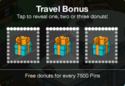 Travel Bonus Act 1