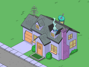 Frink's House animation