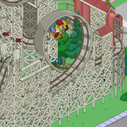 Zoominator Loop with a cart on top