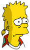 Mooch Bart Sad Icon