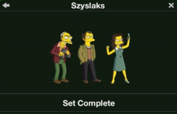 Szyslaks Character Collection