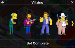 Villains Character Collection
