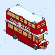 Double-Decker Bus when tapped