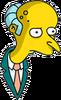 Mr. Burns Thinking Icon