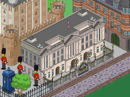 Buckingham Palace in the game