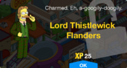Lord Thistlewick Flanders Unlock Message