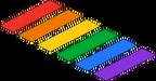 Pride Crosswalk Rainbow Menu